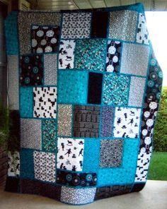 Image result for big block quilt