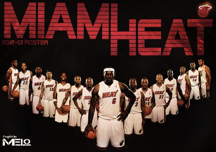 Miami Heat Roster 2012-13