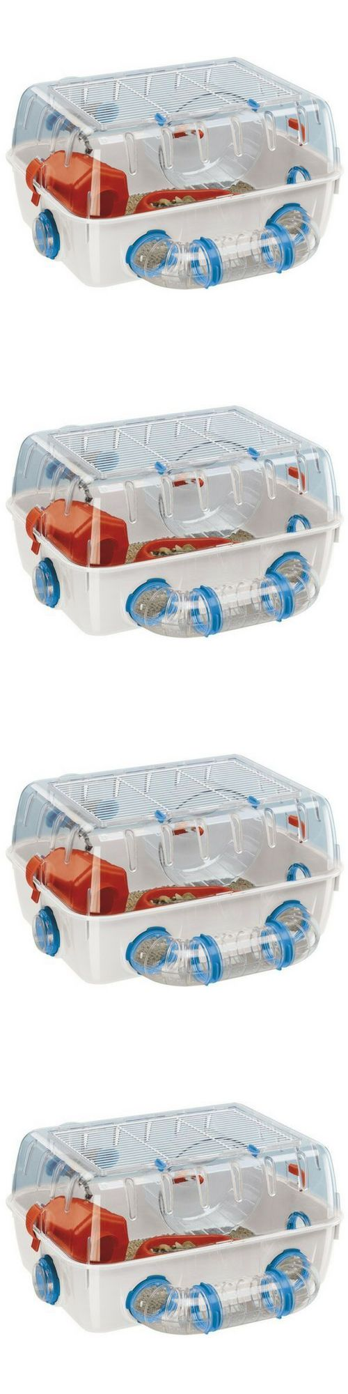 Other Small Animal Supplies 11289: Hamster Cage Home Toy Bridge Swing Pet Small Animal Rodents Rat Mouse BUY IT NOW ONLY: $61.75