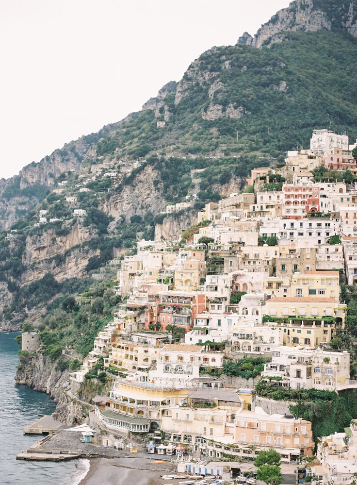 Positano, Italy on the Amalfi Coast is the place for a destination wedding, honeymoon destination or elopement destination