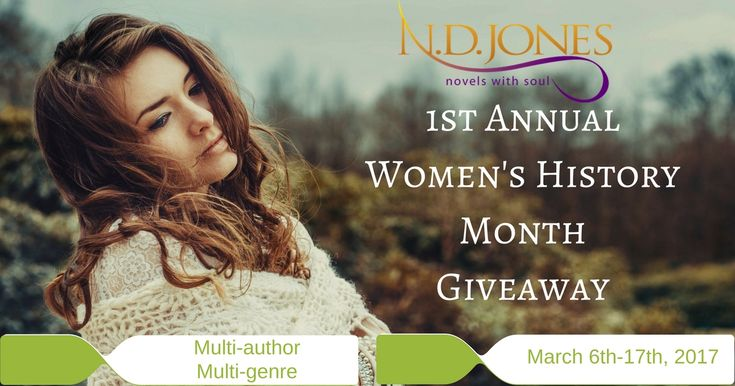 Paranormal Romance author sponsors the 1st Annual Women's History Month Giveaway: The Power of Strong Female Characters
