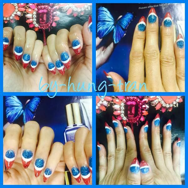 8 best regal nails jacksonville florida images on pinterest fourth of july nails america nail art festive nails red white and blue prinsesfo Choice Image