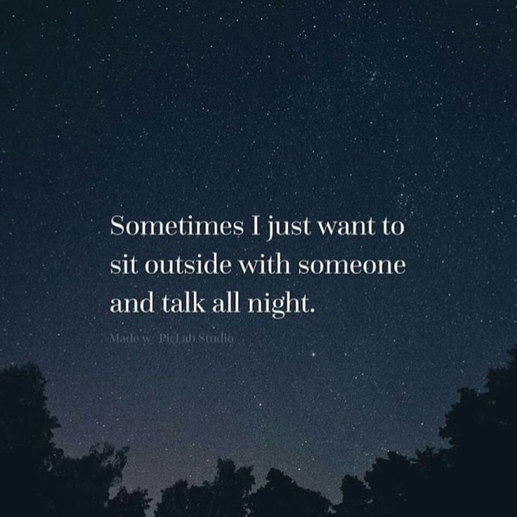Actually I just want to find someone whose conversation would make me WANT to do this :)