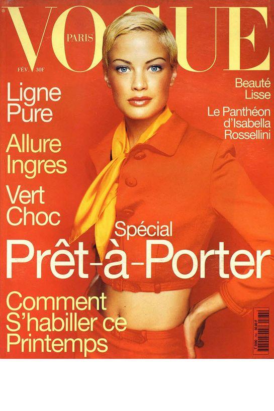 Vogue Paris February 1996