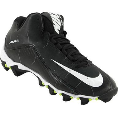 59dfe0afef1f Nike Alpha Shark 2 3 4 Bg Football Cleats - Boys Black White Anthracite