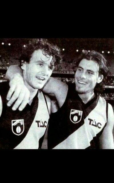 Two Richmond legends, Benny Gale & Richo