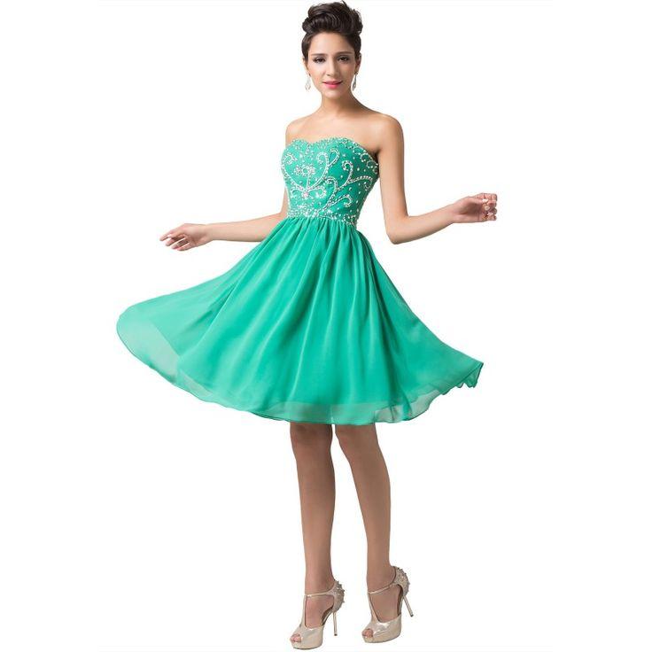 Tyrkysové spoločenské šaty CL6049-5