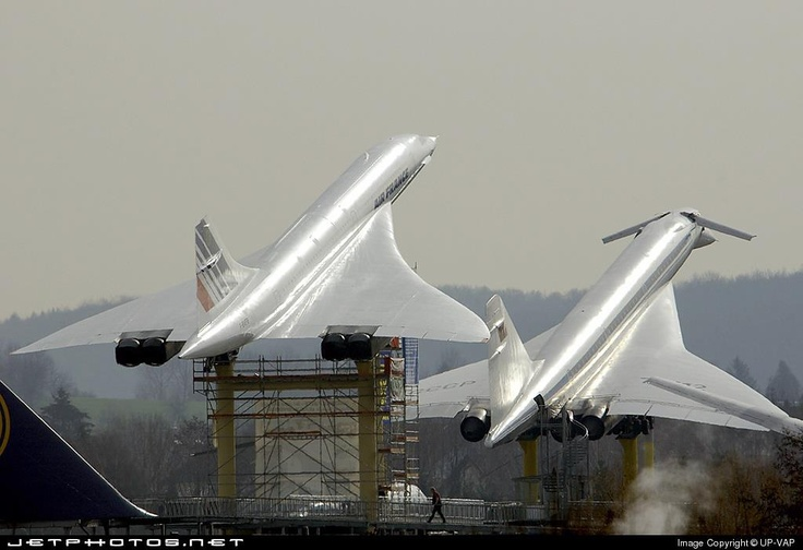 Concorde & Tupolev Tu-144