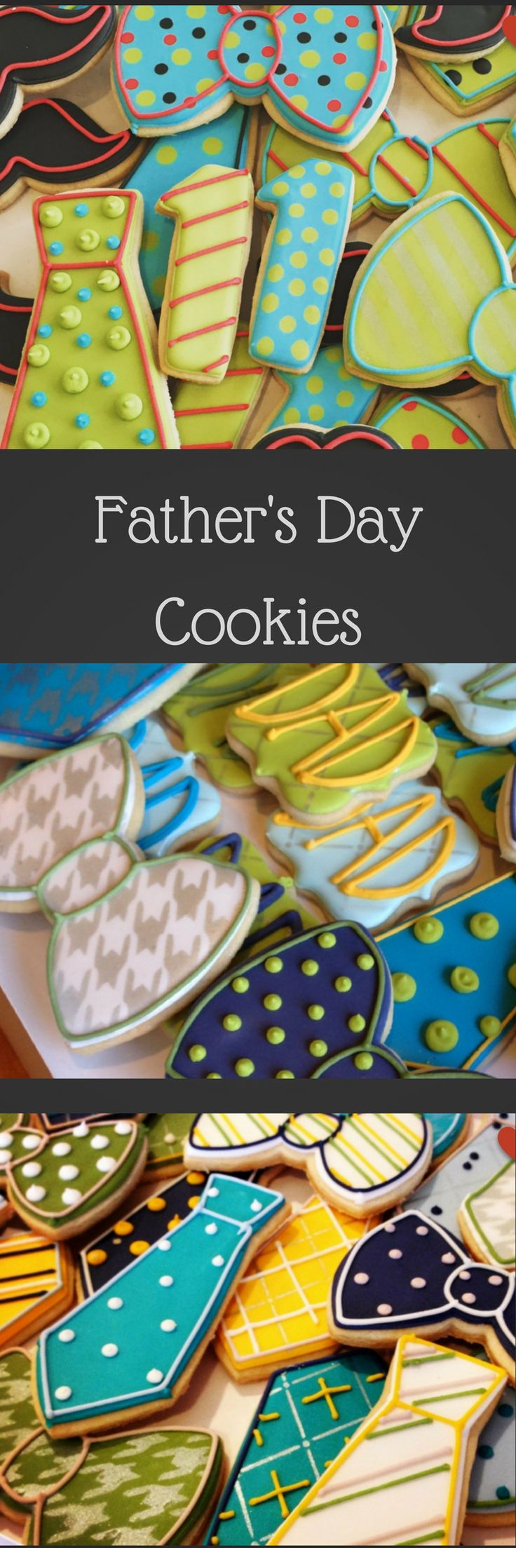 Necktie, Bowtie, Fathers Day, Mister One Birthday Decorated Sugar Cookies-1 dozen #affiliate