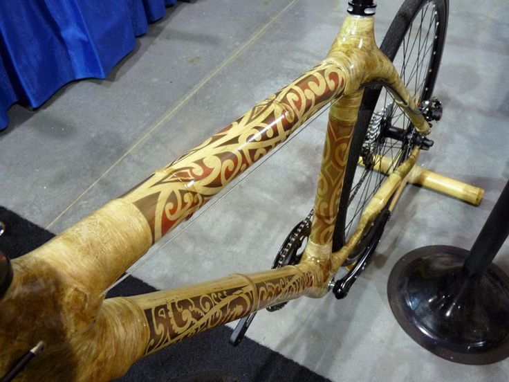 Tattoo Bamboo Bike