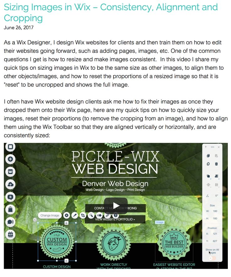 how to add images to your wix pages