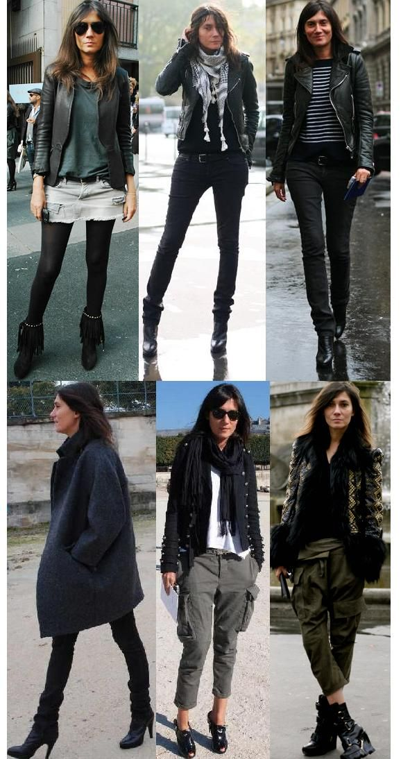 Estilo: Emmanuelle Alt - Fashionismo                                                                                                                                                                                 More