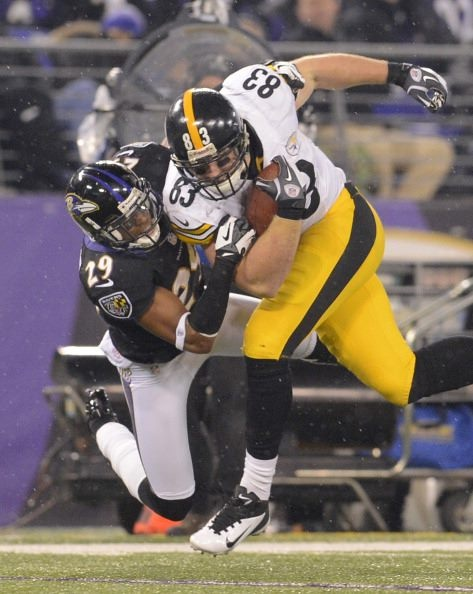 #83 Heath Miller making another big play.