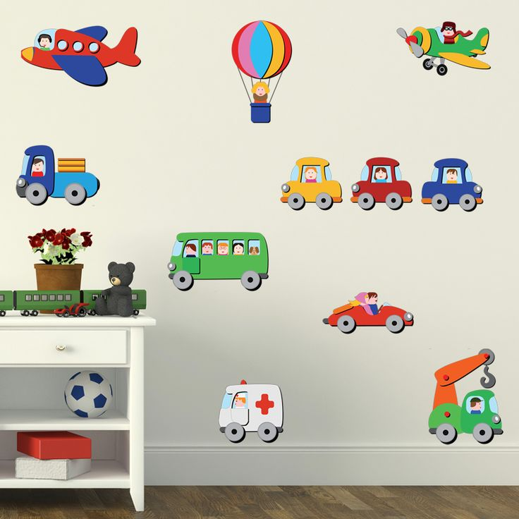 71 best disegni per bambini images on pinterest wall - Wall stickers camerette ...