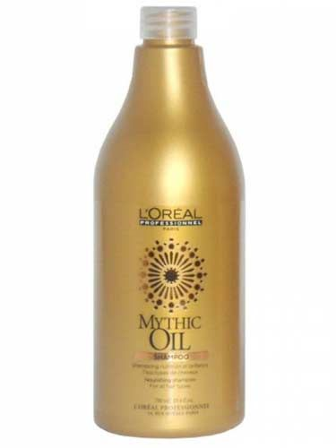With a nourishing formula enriched with a special blend of oils, the Mythic Oil Nourishing Shampoo allows you to recreate the luxurious hair care treatment experienced at your salon to your very own home. Hair is left feeling nourished and soft, supple and brilliantly shinyDirections for use:Distribute through wet hair. Lather. Rinse