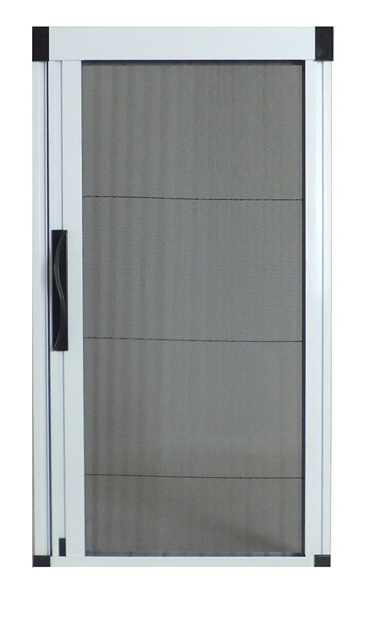 1000 ideas about retractable screen door on pinterest for Retractable double screen door