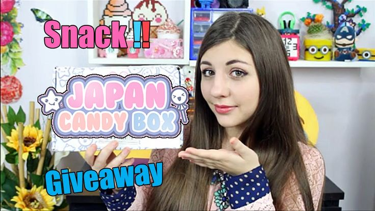 Giveaweay! Assaggiamo Snacks Giapponesi da JAPAN CANDY BOX ✿ Sito Japan Candy Box : http://www.japancandybox.com