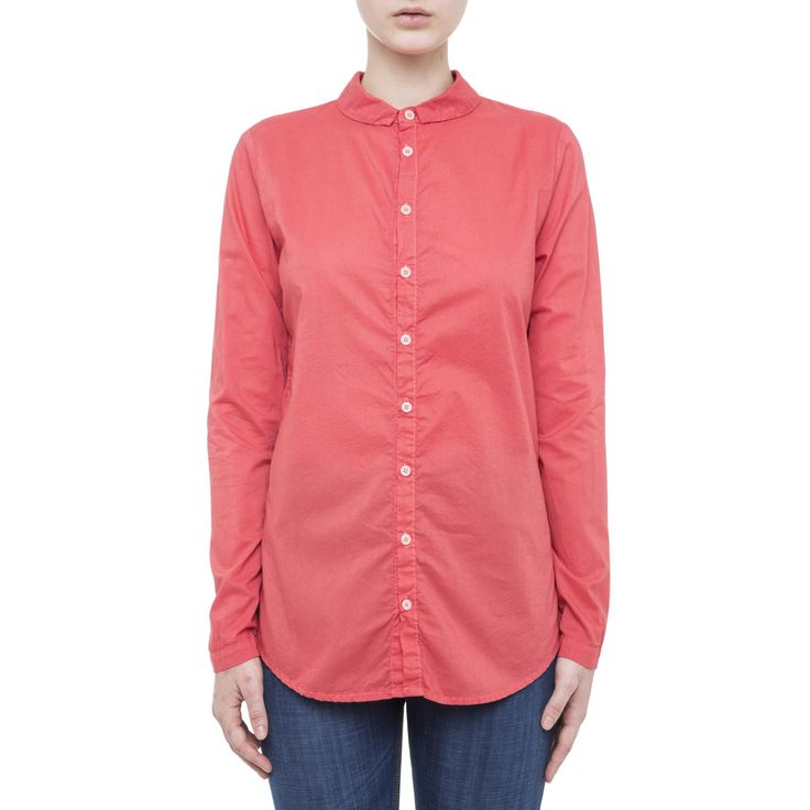 Coral button-down shirt from CP Shades