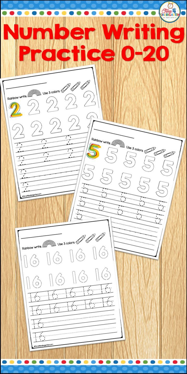 Number Writing Practice Worksheets Practice Writing Numbers 0 To 20 With Rainbow Writing Tracing An Number Writing Practice Writing Numbers Writing Practice [ 1440 x 720 Pixel ]