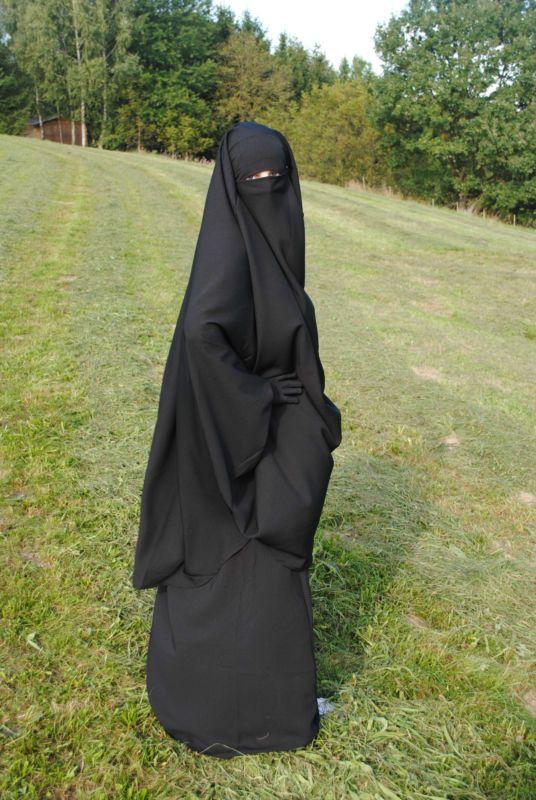 KhimarSet Jilbab Abaya Burqa Niqab Khimar mit Rock