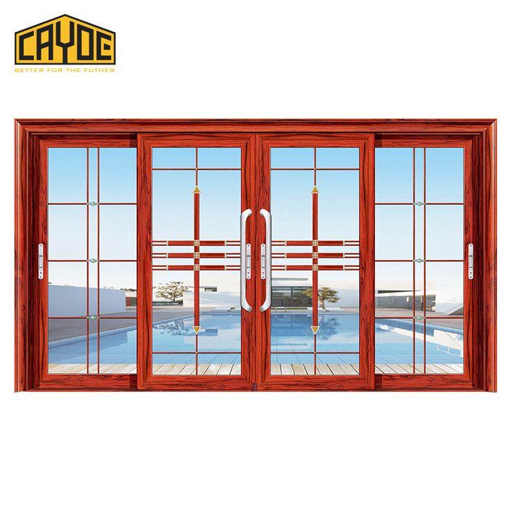 lowes safety door aluminium frame sliding glass door and double sliding doors