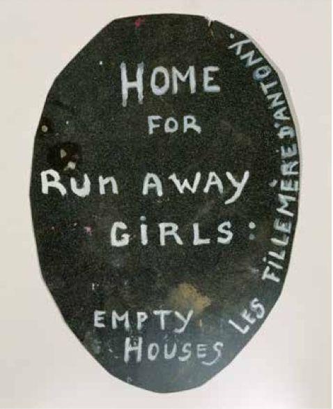* Home for Runaway Girls 1994 Louise Bourgeois