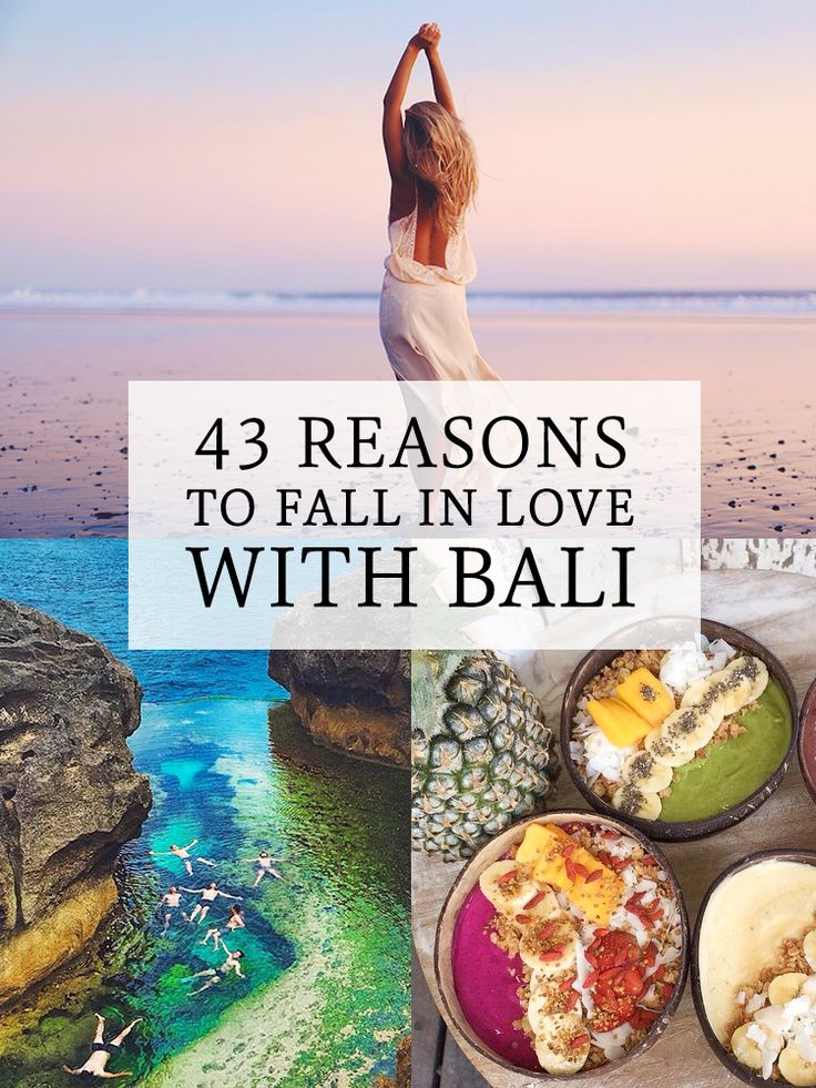 If you've been to Bali before, it's more than likely you wont need any convincing...