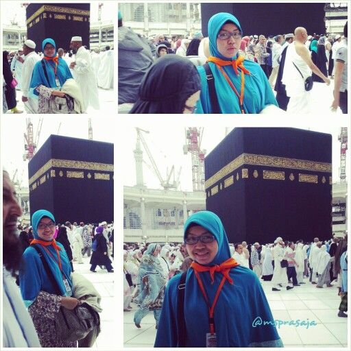 Ka'bah. Subhanallah! My umroh trip Dec 31, 2013 to Jan 9, 2014