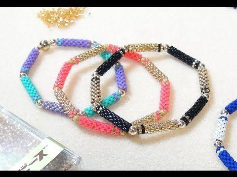 """ГЕРДАН из бисера своими руками! МК - """"Станочное плетение"""" / Ethnic necklace of beads- DIY - YouTube"""