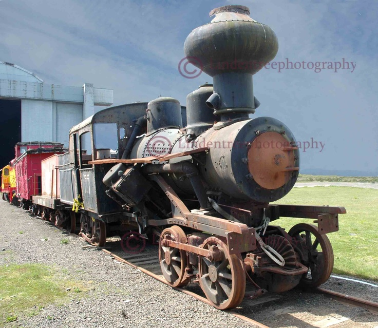Old Train Steam Engine