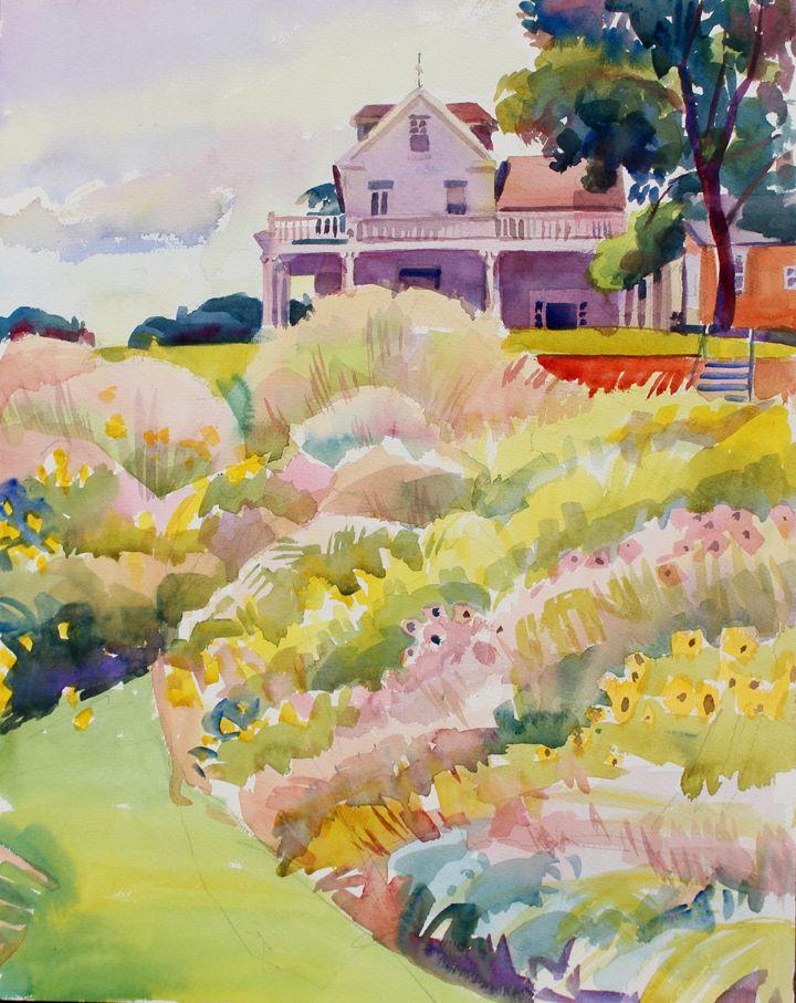 River Farm from Meadow by Susan Abbott