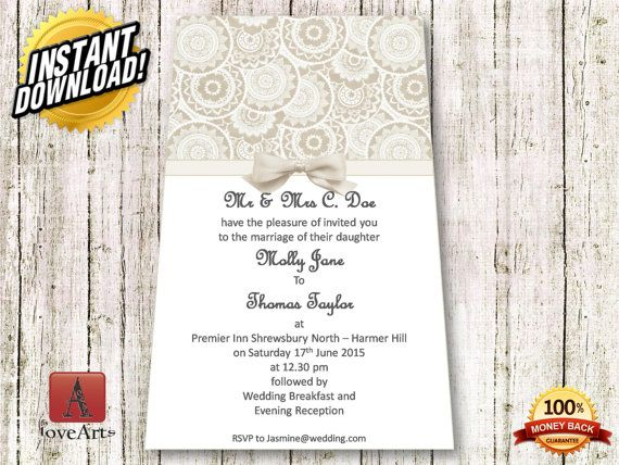 Hey, I found this really awesome Etsy listing at https://www.etsy.com/listing/233590901/instant-download-2in1-wedding-card-fully