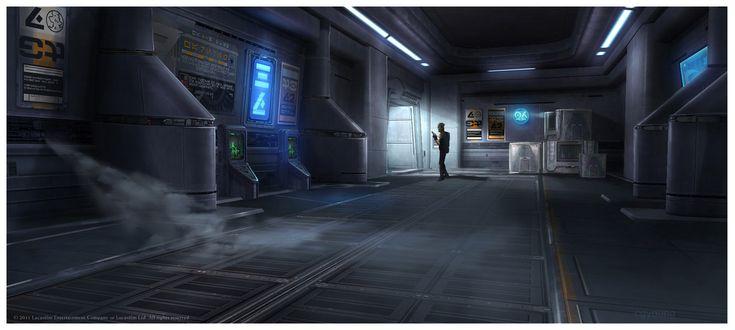 SW: Underworld Hall concept, Clinton Young on ArtStation at https://www.artstation.com/artwork/VNX3g