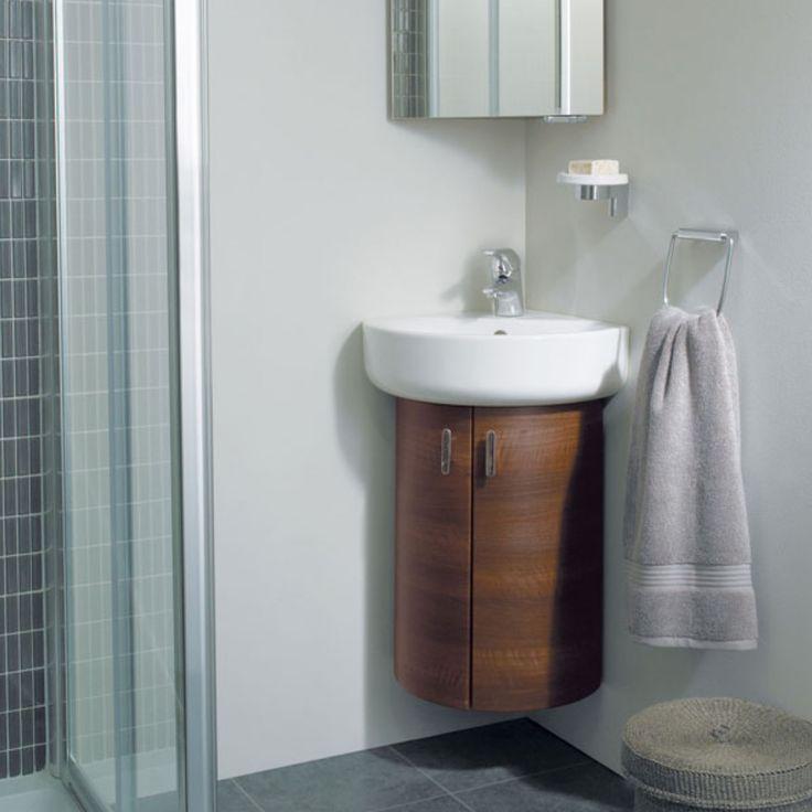 die besten 25+ corner vanity unit ideen auf pinterest | kleine