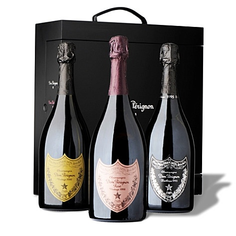 DOM PERIGNON Power Trio gift pack 750ml...For my next birthday please!