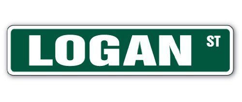 """LOGAN Street Sign Great Gift Idea 100's of names to choose from! by ZANYSIGNS. Save 31 Off!. $8.99. Proudly Manufactured in the U.S.A.. Sign Size: 4""""x 18"""". Makes a Great Gift!. Brand New, Top Quality Sign. Great for Indoors or Outdoors. This sign is 4""""x18"""" and made with an exterior grade PVC plastic and printed with the best inks in the industry. Perfect for outdoor use for over 5 years or will look great inside. No rusting or fading indoors or out. The sign come with round corners and 2…"""