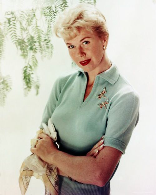 Doris Day.......love her...she influenced my childhood.