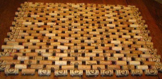 Recycled Wine Cork Doormat.