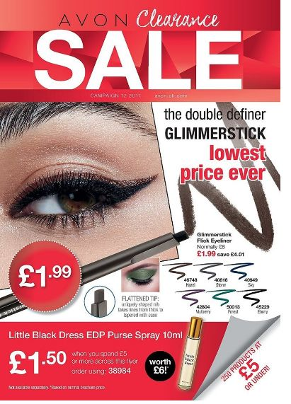 View our latest clearance brochure online at www.avon.uk.com/store/daryllouise