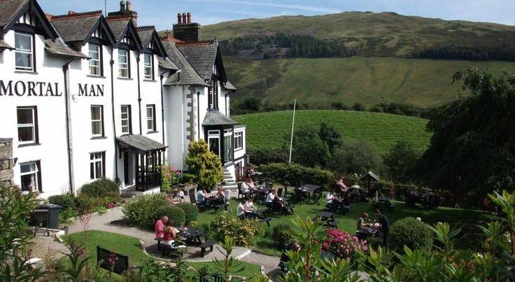 The Mortal Man Hotel Review, Lake District UK