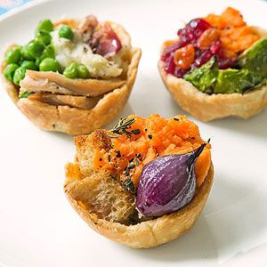 Thanksgiving Leftover Pot Pies (via FamilyFun Magazine)