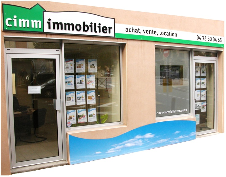 Agence immobilière à Voreppe, Isère, Rhône-Alpes, France. Real Estate near the French Alps.