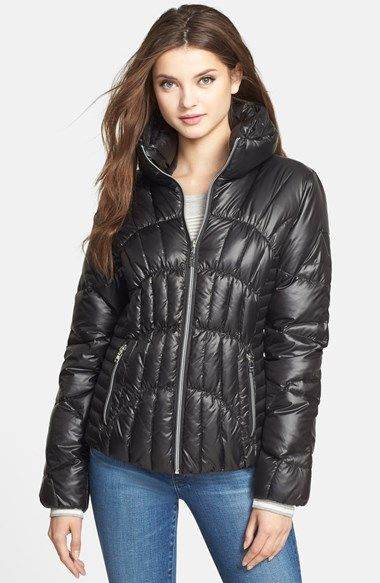 GUESS Fitted Packable Down & Feather Jacket (Online Only ...