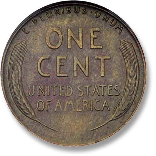 The wheat penny.  I always have to check my coins for a wheat penny.  If I have one I put it in my coin tube. :-)