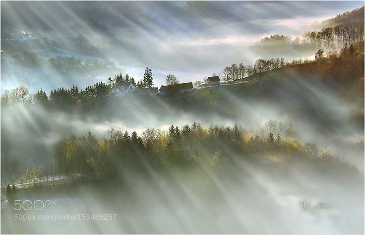 Foggy land by darkogersak. Please Like http://fb.me/go4photos and Follow @go4fotos Thank You. :-)