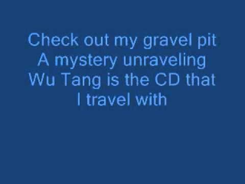 Wu Tang Clan Gravel Pit Lyrics Youtube In 2020 Wu Tang Clan