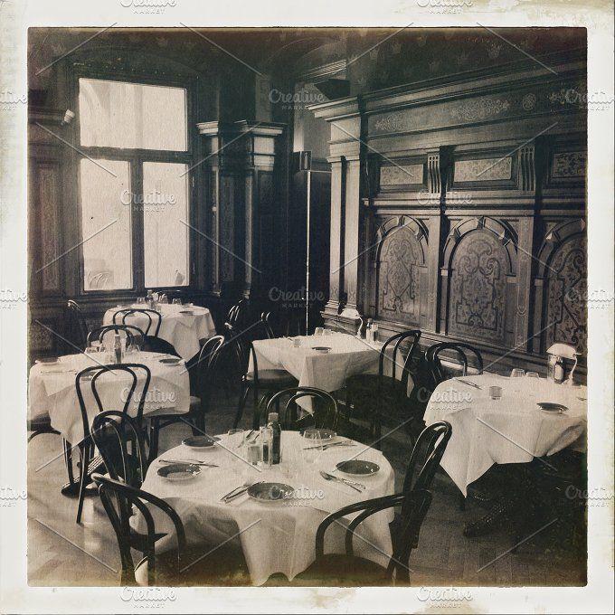 Vintage Café by The Image Shop on @creativemarket