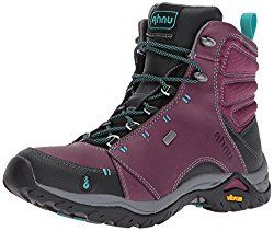 Top 30 Best Women's Hiking Boots In 2018 - Adventure Hike Travel. Ahnu Women's W Montara Waterproof Backpacking Boot Part of the Ahnu by Teva collection, this lightweight boot crafted from waterproof leather and oiled nubuck is designed to carry you comfortably over terrains of the muddy, rocky and rugged variety—featuring a custom Vibram outsole and Ahnu Numentum® hike technology to keep your foot extra stable on challenging trails.