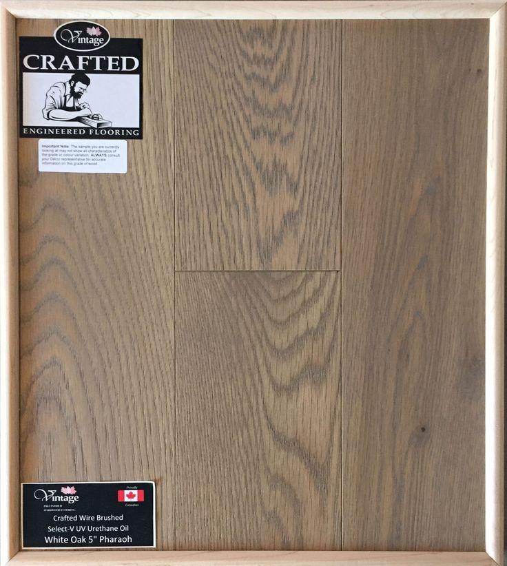 "Included Engineered Hardwood Flooring - White Oak 5"" Pharaoh"