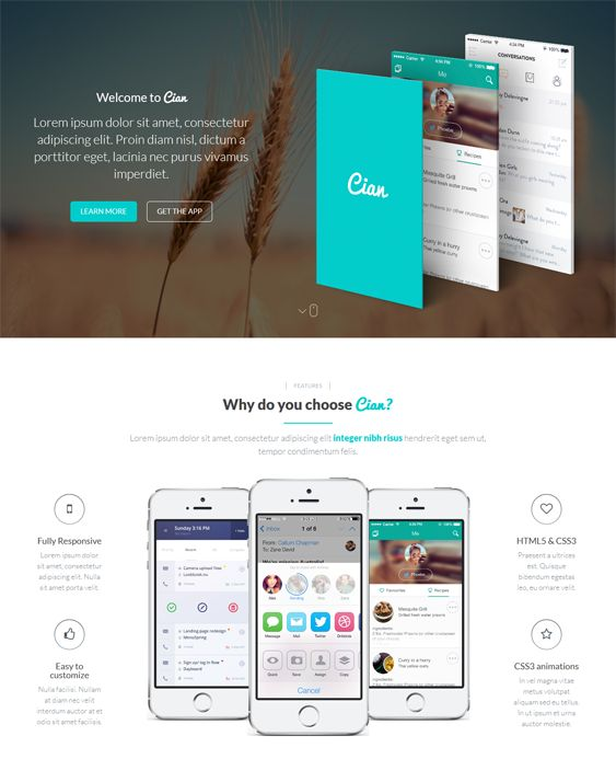 8 best 8 More of the Best Landing Page WordPress Themes 2 images on ...